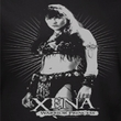Xena: Warrior Princess Ladies Shirt Don't Mess With Me Black T-Shirt