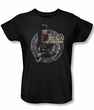 Xena: Warrior Princess Ladies Shirt The Warrior Black Tee T-Shirt