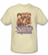 Xena: Warrior Princess Shirt Collage Adult Cream Tee T-Shirt