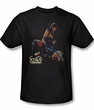 Xena: Warrior Princess Shirt In Control Adult Black Tee T-Shirt
