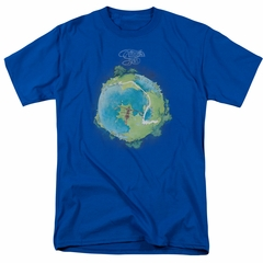 Yes Shirt Fragile Cover Royal T-Shirt