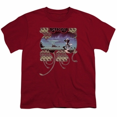 Yes Shirt Kids Yessongs Cardinal T-Shirt