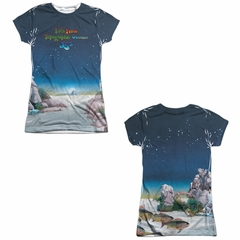 Yes Shirt Topographic Oceans Sublimation Juniors Shirt