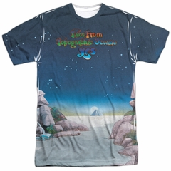 Yes Shirt Topographic Oceans Sublimation Shirt