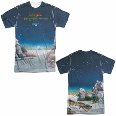 Yes Shirt Topographic Oceans Sublimation Shirt Front/Back Print