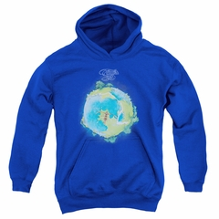 Yes Youth Hoodie Fragile Cover Royal Kids Hoody