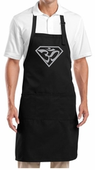 Yoga Apron Super OM Full Length Apron with Pockets