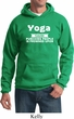 Yoga Cause Punching People is Frowned Upon Hoodie