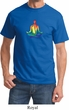 Yoga Chakra Lotus Pose Adult Shirt