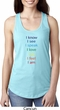 Yoga Chakra Words Ladies Ideal Tank Top