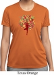 Yoga Foliage Tree Pose Ladies Moisture Wicking Shirt
