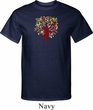 Yoga Foliage Tree Pose Mens Tall Shirt