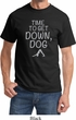 Yoga Get Down Dog Adult Shirt
