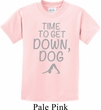 Yoga Get Down Dog Kids Shirt
