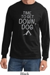 Yoga Get Down Dog Long Sleeve Shirt