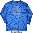 Yoga Get Down Dog Long Sleeve Tie Dye Shirt