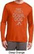 Yoga Get Down Dog Mens Dry Wicking Long Sleeve Shirt