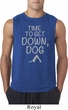 Yoga Get Down Dog Mens Sleeveless Shirt