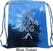 Yoga Get Down Dog Tie Dye Bag