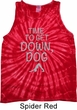 Yoga Get Down Dog Tie Dye Tank Top