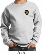 Yoga Gold AUM Patch Pocket Print Kids Sweatshirt