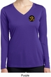 Yoga Gold AUM Patch Pocket Print Ladies Dry Wicking Long Sleeve Shirt
