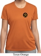 Yoga Gold AUM Patch Pocket Print Ladies Moisture Wicking Shirt