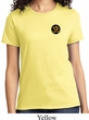 Yoga Gold AUM Patch Pocket Print Ladies Shirt