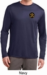 Yoga Gold AUM Patch Pocket Print Mens Dry Wicking Long Sleeve Shirt