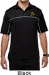 Yoga Gold AUM Patch Pocket Print Mens Polo Shirt