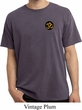 Yoga Gold AUM Patch Pocket Print Pigment Dyed Shirt