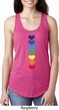 Yoga Heart Chakras Ladies Ideal Tank Top