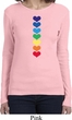 Yoga Heart Chakras Ladies Long Sleeve Shirt