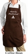 Yoga Heavily Meditated Ladies Full Length Apron with Pockets