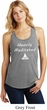 Yoga Heavily Meditated Ladies Racerback Tank Top