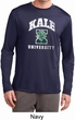 Yoga Kale University Darks Mens Dry Wicking Long Sleeve Shirt