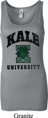 Yoga Kale University Lights Ladies Longer Length Tank Top