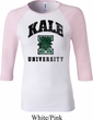 Yoga Kale University Lights Ladies Raglan Shirt
