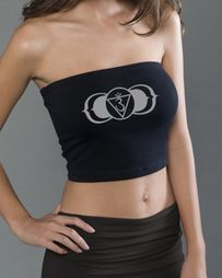 Yoga Ladies Tube Top - Ajna Symbol -  Made in the USA