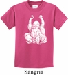 Yoga Laughing Buddha Kids Shirt