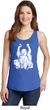 Yoga Laughing Buddha Ladies Tank Top
