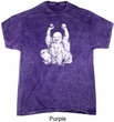 Yoga Laughing Buddha Mineral Tie Dye Shirt