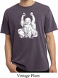 Yoga Laughing Buddha Pigment Dyed Shirt