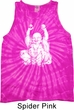 Yoga Laughing Buddha Tie Dye Tank Top