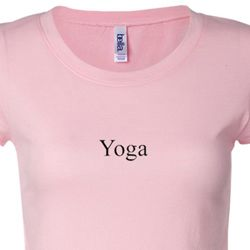 Yoga Logo Ladies Yoga T-shirts