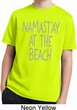 Yoga Namastay at the Beach Kids Moisture Wicking Shirt