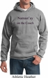 Yoga Namastay Home on the Couch Hoodie