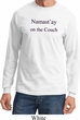 Yoga Namastay Home on the Couch Long Sleeve Shirt