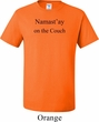 Yoga Namastay Home on the Couch Mens Tall Shirt