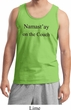 Yoga Namastay Home on the Couch Tank Top